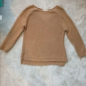 Camel color sweater